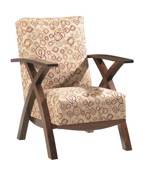 Handmade Bristol - amish bristol cross lounge chair