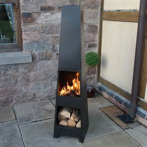 Wood Burning Patio Heaters by Outdoor Garden Chiminea Patio Heater Wood Burner