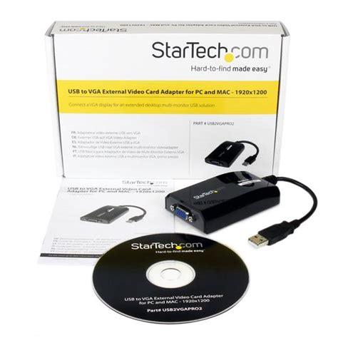Vga Card Laptop External usb vga adapter usb 2 0 to vga adapter cable external multi monitor startech