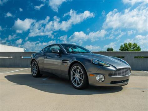 find used aston martin vanquish base coupe 2 door in fair