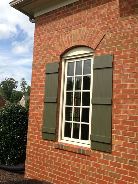 exterior brick trim colors