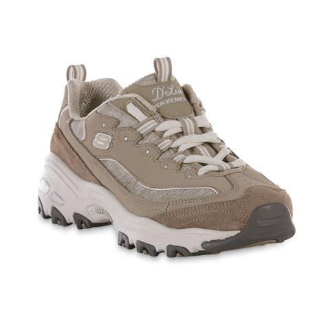 D Lite skechers s d lites me time athletic shoe taupe