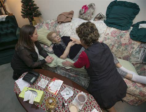 brton palliative care team helps patients die at home