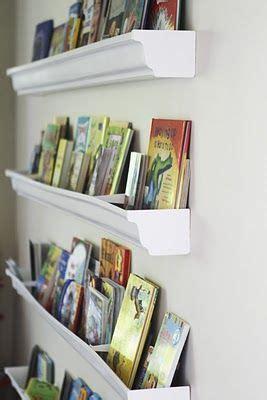 25 best ideas about gutter bookshelf on