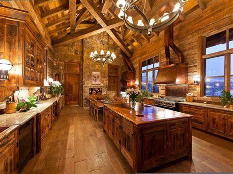 cabin kitchen designs best 25 log cabin kitchens ideas on log home rustic cabin kitchens and log house