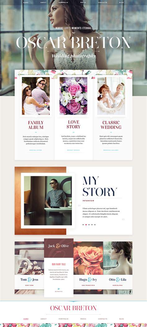web design gallery layout website design part 1 on behance