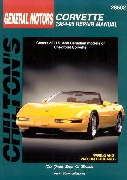 download car manuals 1996 chevrolet corvette instrument cluster service manual chilton car manuals free download 1996 chevrolet corvette head up display