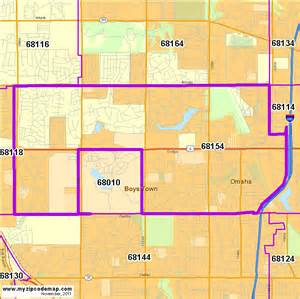 Omaha Zip Code Map by Zip Code Map Of 68154 Demographic Profile Residential