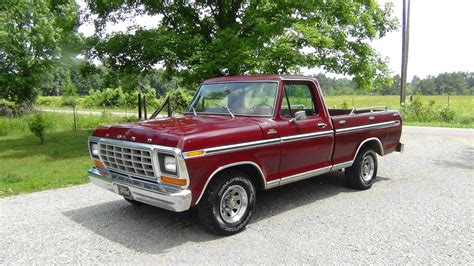 ford old all american classic cars 1979 ford f100 ranger pickup truck