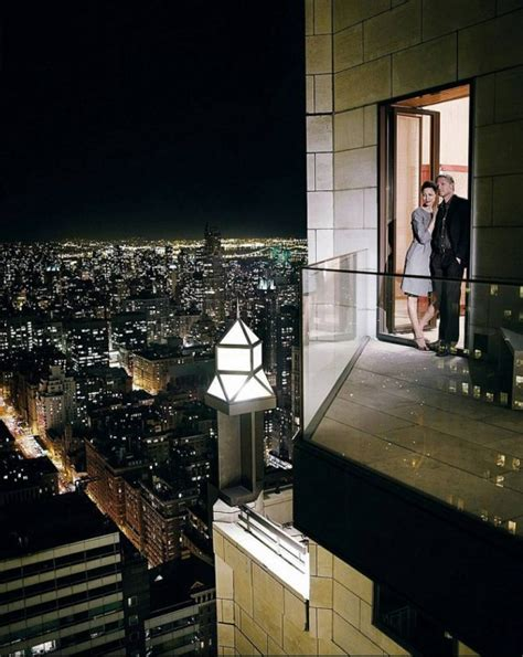 Trump Penthouse Interior by Inside The Four Seasons Hotel New York Ty Warner Penthouse