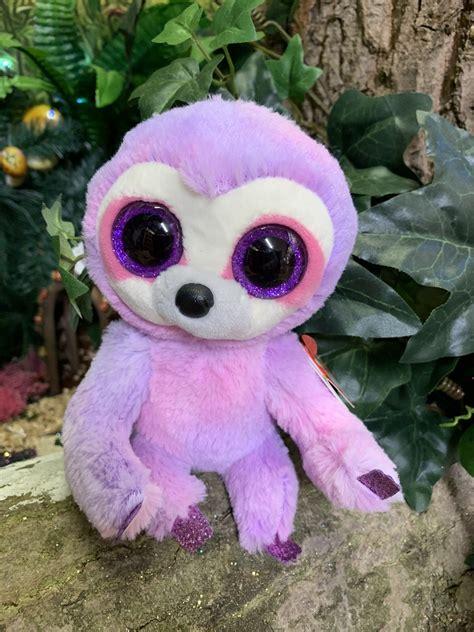 beanie boo dreamy  purple sloth celebrations  toys