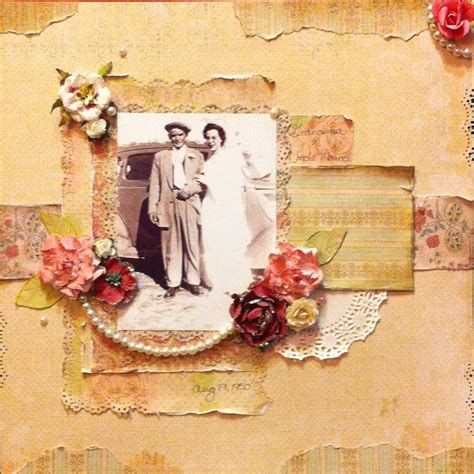layout vintage 17 best images about vintage scrapbooking layouts on