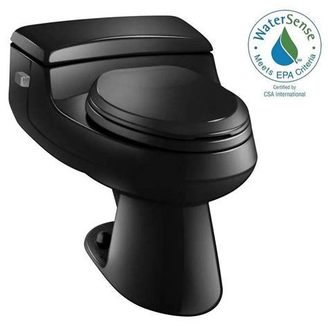 schwarze toilette kohler san raphael comfort height 1 1 gpf single