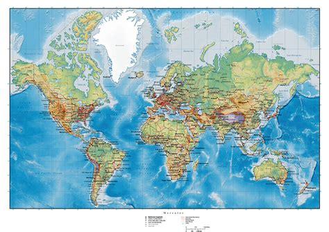 du monde plan carte du monde