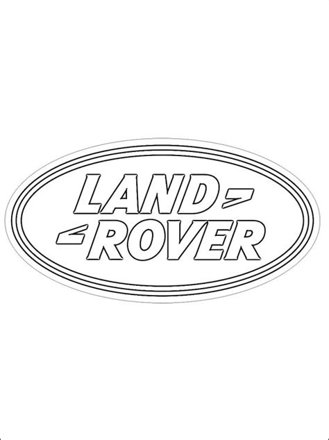 land rover coloring coloring pages