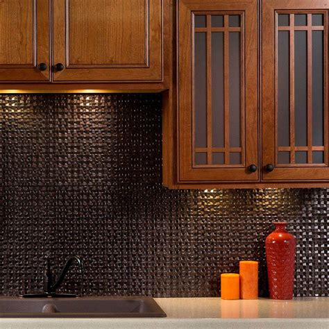 thermoplastic panels kitchen backsplash fasade 24 in x 18 in fleur de lis pvc decorative tile