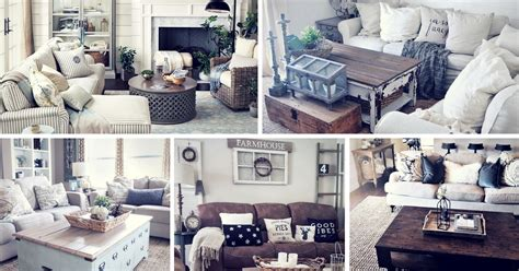 home decor ideas living room 27 rustic farmhouse living room decor ideas for your home