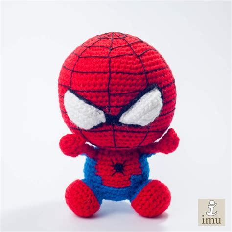 spiderman doll pattern spiderman imu amigurumi amigurumi pinterest