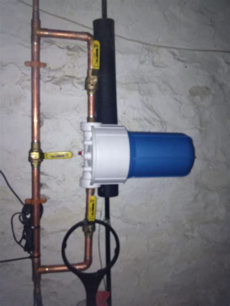 B And K Plumbing by Whole House Water Filter With Bypass For A Plumbing