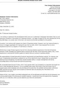 cover letter for analyst cover letter best free business analyst cover letter