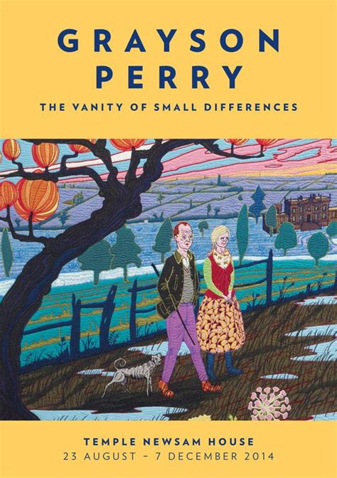 Grayson Perry The Vanity Of Small Differences by Past Event Grayson Perry The Vanity Of Small