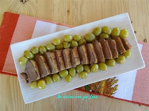 cucinare petto di anatra petto di anatra con uva in cucina con zia lora