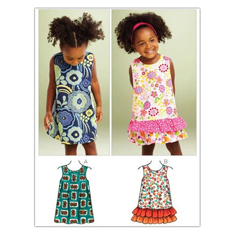 pattern a line dress toddler kwik sew toddler a line dresses 3864 pattern discount
