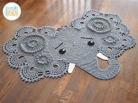 Elephant Rug Pattern Free by Josefina And Jeffery Elephant Rug Pdf Crochet Pattern