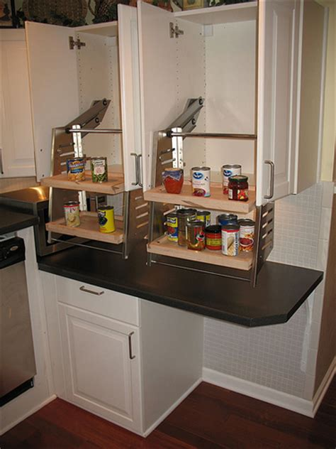pull down kitchen cabinets wheelchair accessible kitchen cabinets flickr photo