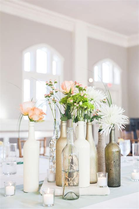 25  best Wine bottle centerpieces ideas on Pinterest
