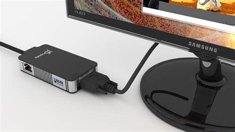 Usb 3 0 Multi Adapter Vga Gigabit Ethernet J5create Jua370 jua370 usb 3 0 multi adapter vga gigabit ethernet