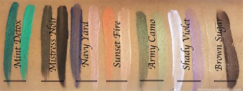 L Oreal Infallible Paints Mint Detox Review by All L Oreal Infallible Liquid Eyeshadow Paints Shades