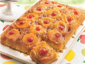 peachy pineapple upside down cake