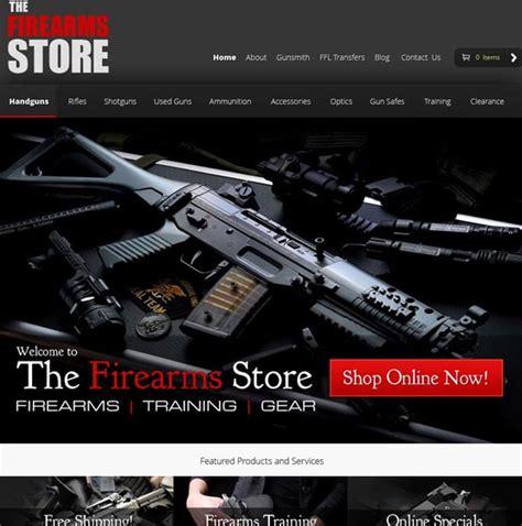Gun Shop Web Design Expert Best Firearms Website Design Gun Shop Website Template