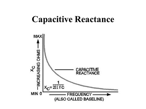 capacitive reactance of a circuit capacitance al penney vo1no ppt