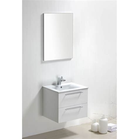 buy caen 24 inch wall mount modern bathroom vanity set