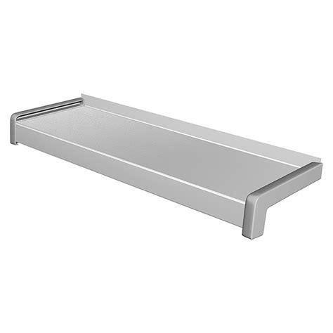 fensterbank breite sarei fensterbank aluminium wei 223 aluminium silber max