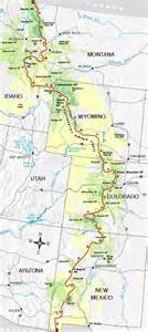 continental divide trail colorado map 1000 images about continental divide trail on