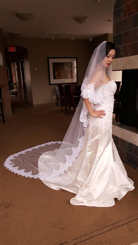 Floor Length Veil Ivory by Free Shipping Sale Ivory Bridal Cathedral Floor Length