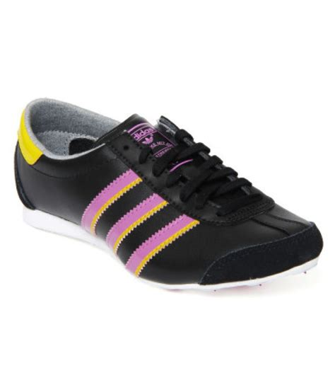 adidas lifestyle black casual shoes available at snapdeal