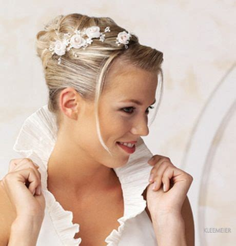 Hochzeitsfrisur Halblang by Hochzeitsfrisuren Halblang