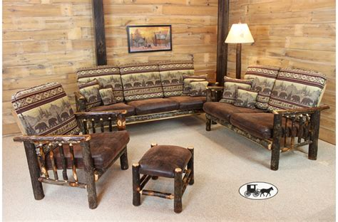 rustic living room set winslow traditional rustic brown