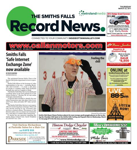 smithsfalls09112014 by metroland east smiths falls smithfalls032317 by metroland east smiths falls record