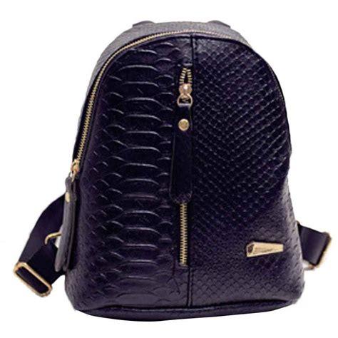 Tas Ransel Mini Wanita tas ransel mini korea untuk wanita black