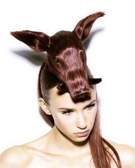 Weirdest Hairstyles by Hairstyles Weirdomatic