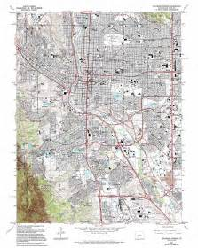 map colorado springs co colorado springs topographic map co usgs topo 38104g7