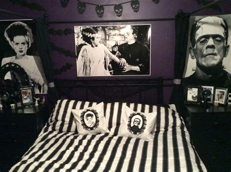 themes of bride of frankenstein the perfect bedroom for mr mrs frankenstein credit to