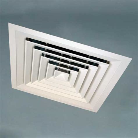 Air Diffusers For Drop Ceilings by Ceiling Diffusers 4 Way Louvre Diffusers Luminaire