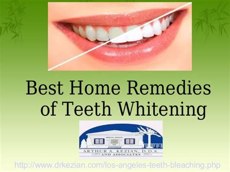 best home remedies of teeth whitening