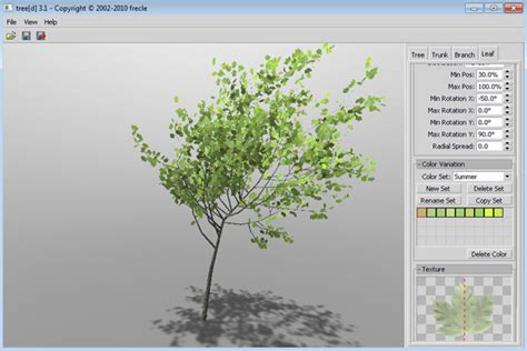 site tree generator 3d tree generator free 3d models